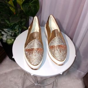 Blinged Out Women's Tennis Shoes